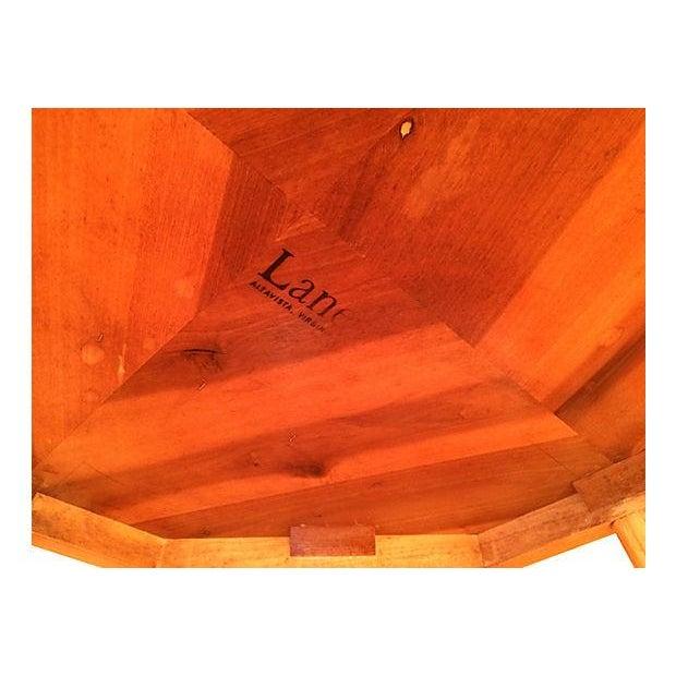 Lane Furniture Octagonal Coffee Table - Image 3 of 5