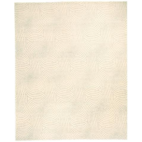 ModernArt Collection - Customizable Sapphire Rug (4x6) For Sale - Image 4 of 5