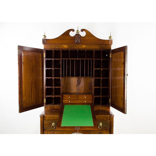Early 19th Century Antique Regency Secretary Desk For Sale In Atlanta - Image 6 of 13