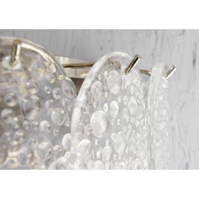 Transparent Mazzega Bubble Sconce For Sale - Image 8 of 10