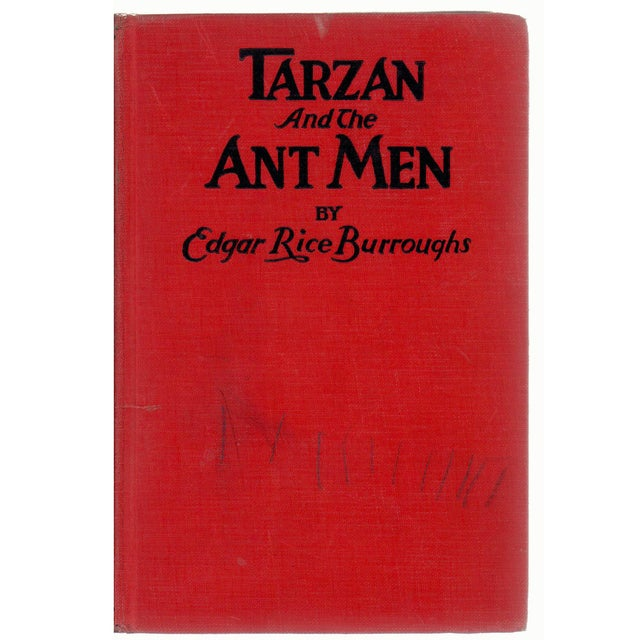 """Booth & Williams 1924 """"Tarzan and the Ant Men"""" Collectible Book For Sale - Image 4 of 4"""