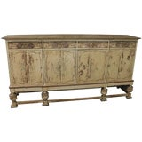 Image of Sideboard French Country Farmhouse Antique 1900 For Sale