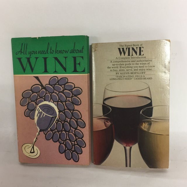 Vintage Wine Themed Books - A Pair For Sale - Image 10 of 10