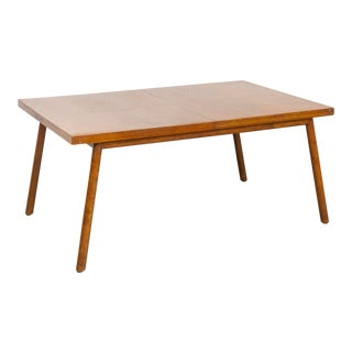 t.h. Robsjohn-Gibbings for Widdicomb Walnut Dining Table For Sale