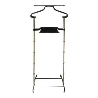Vintage Jacques Adnet Valet For Sale