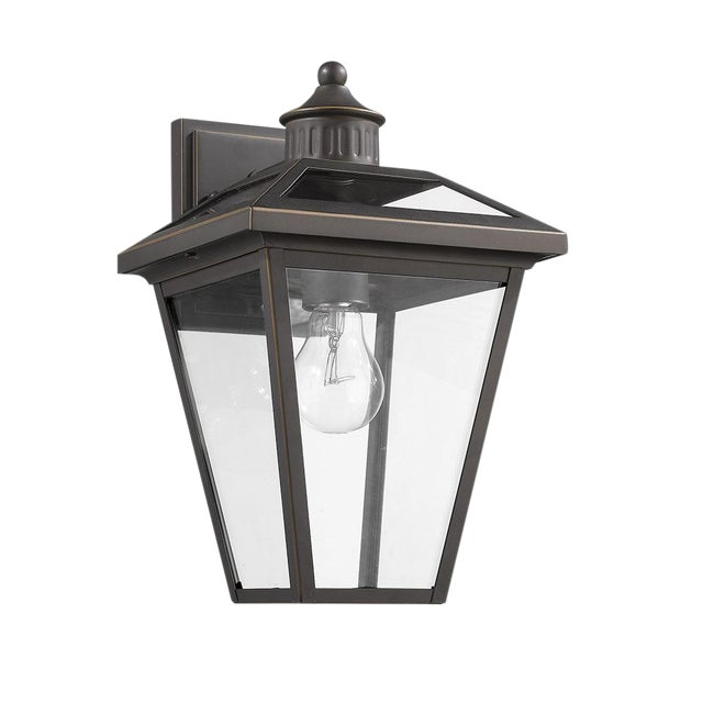 French Quarter 1 Light Outdoor Wall Sconce, Olde Bronze For Sale