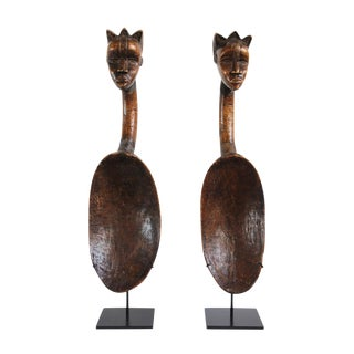 Dan Bassa Spoons Liberia For Sale