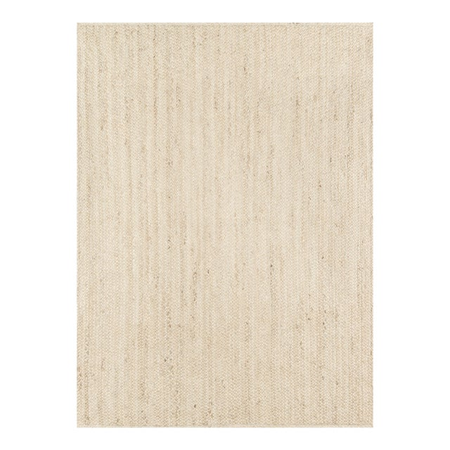 Erin Gates by Momeni Westshore Waltham Natural Jute Area Rug - 7′6″ × 9′6″ For Sale