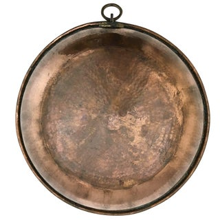 Hand-Hammered Turkish Copper Basin | XL Copper Bowl For Sale