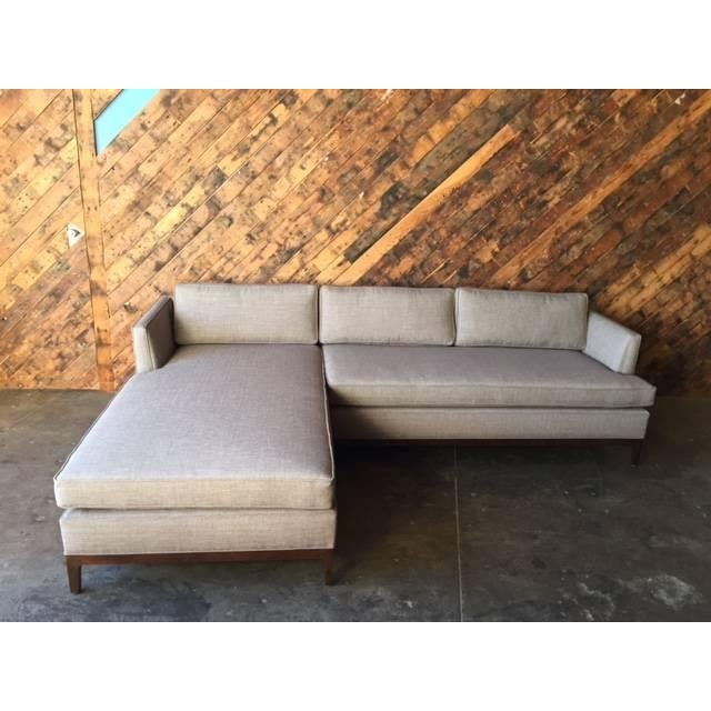 Sectional Sofa Sale Los Angeles: Mid-Century Style Custom Reversible Sectional
