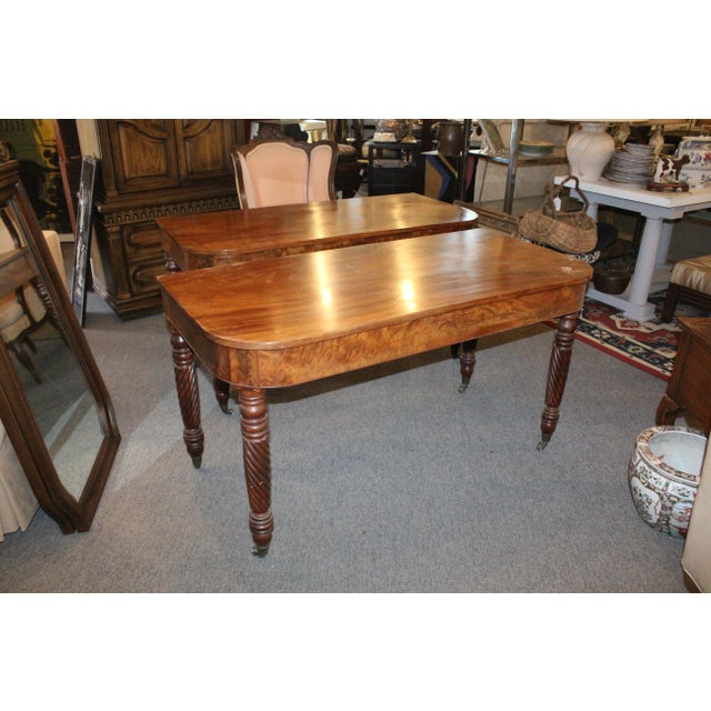 20th Century Art Nouveau Console Tables - a Pair For Sale - Image 4 of 6