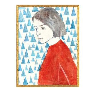 Joan Didion Art Print - Framed For Sale