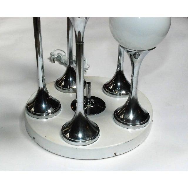 Italian Vintage Italian Globes Floor Lamp by Sergio Mazza For Sale - Image 3 of 7
