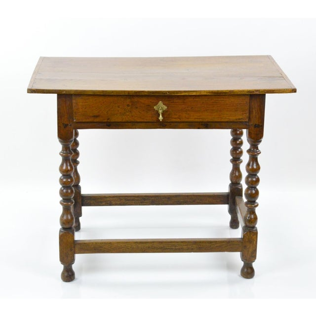 Antique Jacobean Style Tavern Table - Image 2 of 8