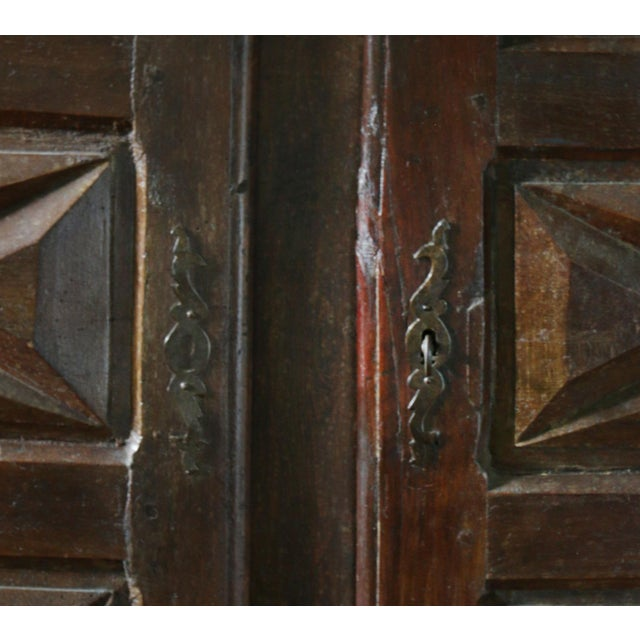 Original Louis XIII-Style Cabinet, France, 19th Century For Sale - Image 4 of 8