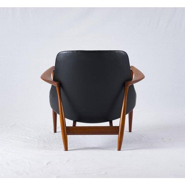 "Wood Ib Kofod-Larsen ""Elizabeth"" Chair For Sale - Image 7 of 10"