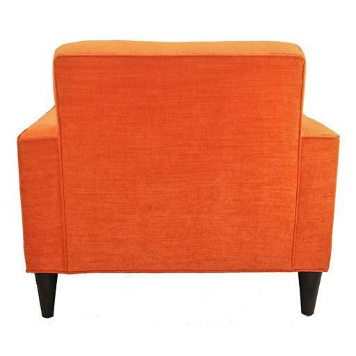 Mid-Century Modern Bowie Club Chair - Image 4 of 4
