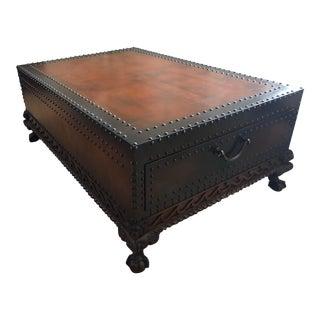 Ralph Lauren Dalton Cocktail Table For Sale