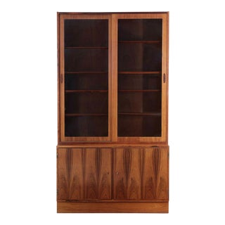 Poul Hundevad Danish Mid Century Rosewood Bookshelf Cabinet