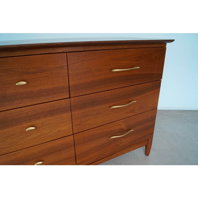 La Period Mid-Century Modern Lowboy Dresser For Sale - Image 10 of 13