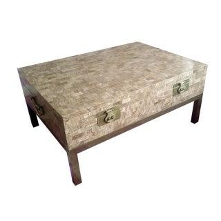 Maitland Smith Tessellated Stone Coffee Table