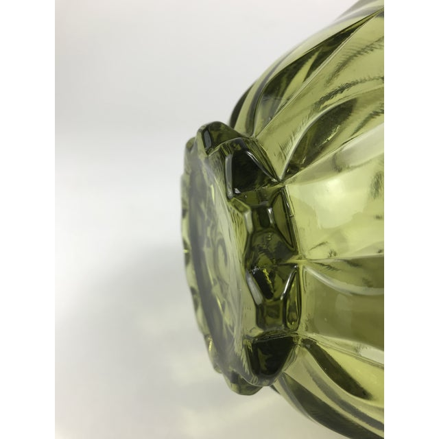 Glass 1970s Traditional Fenton Glass Covered Candy Dish For Sale - Image 7 of 10