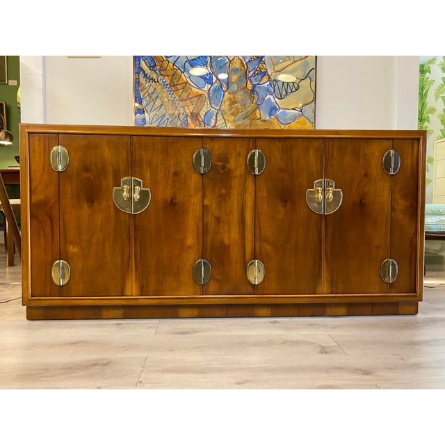 Midcentury Credenza Signed by Lane Furniture For Sale - Image 12 of 12