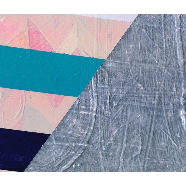 NY15 #17 Original Geometric Painting - Image 3 of 6