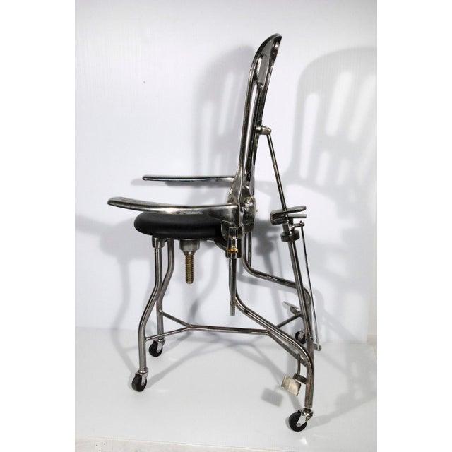 1930s Vintage Adjustable Dental Chair - Image 4 of 8