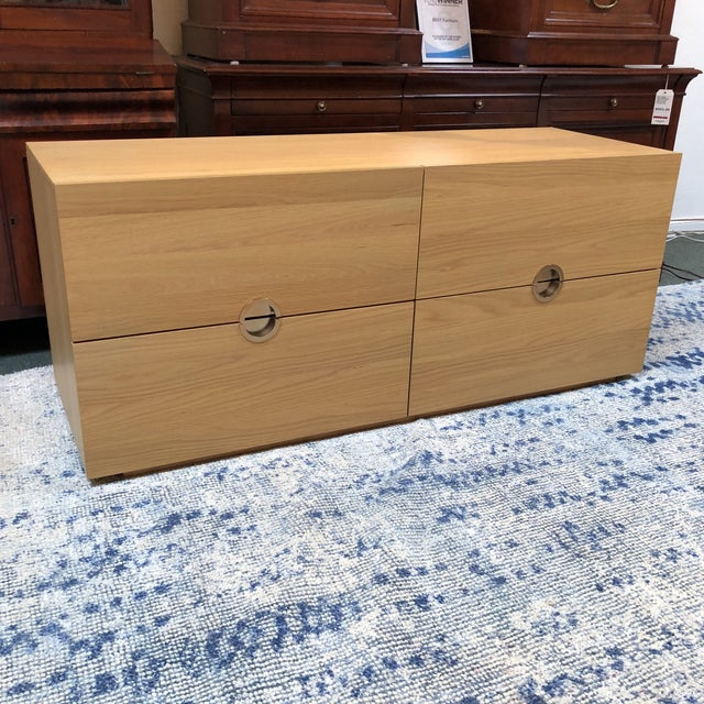 Contemporary Latitude Low Dresser For Sale - Image 3 of 11