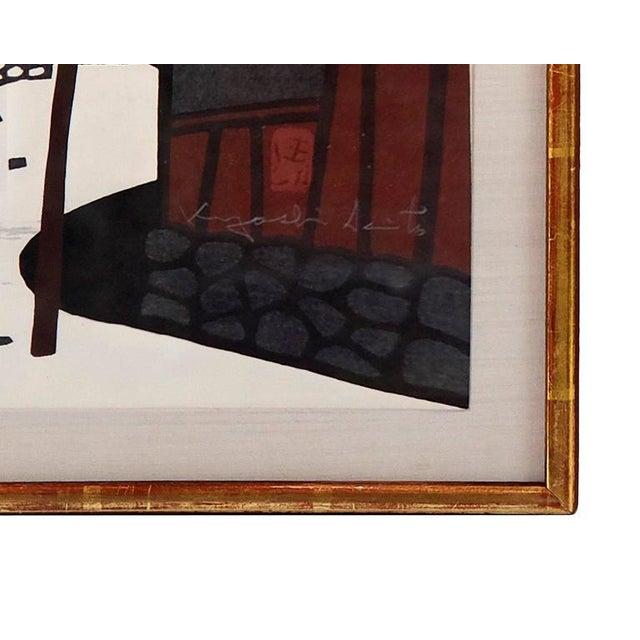 Japanese 1950s Vintage Kiyoshi Saito Wood Block Prints - A Pair For Sale - Image 3 of 6