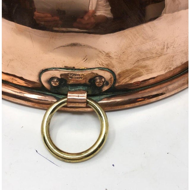 Large Copper Mixing Bowl For Sale In Houston - Image 6 of 11