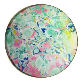 Jill Seale Hand-Marbled Tray