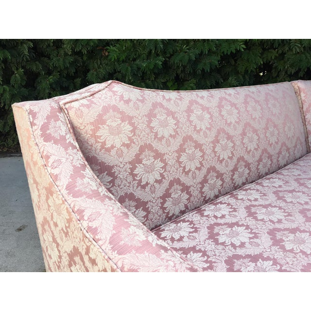 Hollywood Regency at it's best in this stunning 4-piece sectional sofa. Circa 1960s. Upholstery in near new condition....