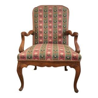 19th Century Fruitwood Armchair