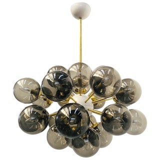 Ovale Sputnik Chandelier by Fabio Ltd For Sale