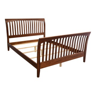 Ethan Allen Solid Cherry Queen Bed For Sale