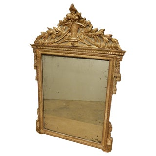 18th C. French Directoire Mirror For Sale