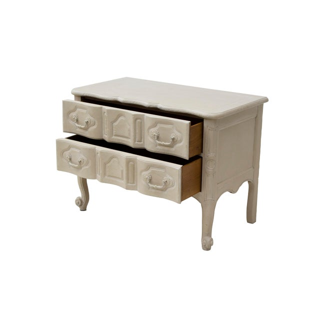 French French Provincial Nightstand by Baker Furniture For Sale - Image 3 of 11