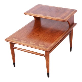 Lane Acclaim Mid-Century Modern Step End Table For Sale