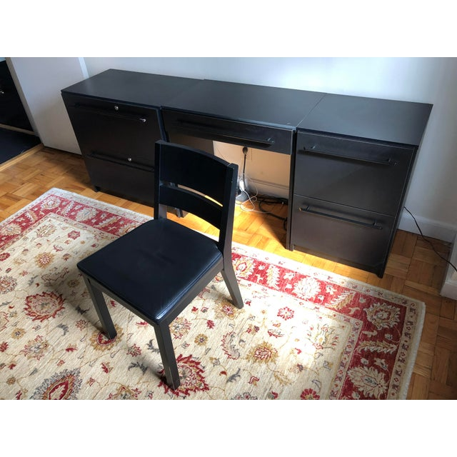 Office Modular Filing Cabinet Desk & Chair For Sale - Image 13 of 13