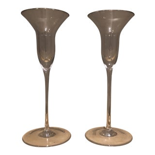 Teraforma Issi Candlesticks - a Pair For Sale
