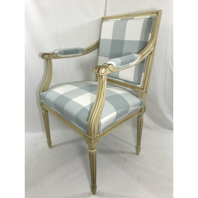 Louis 16th Style Arm Chair For Sale - Image 6 of 6
