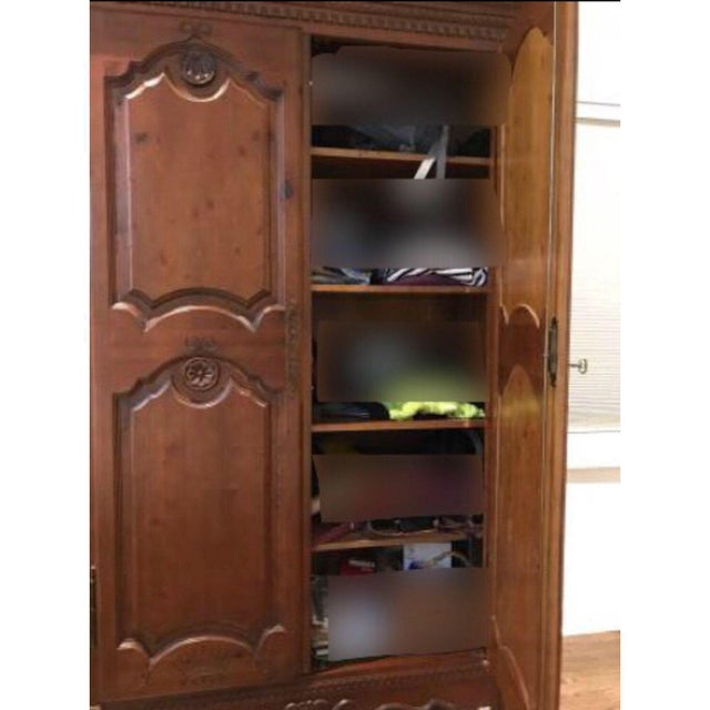 Vintage Clothing Armoire - Image 3 of 4