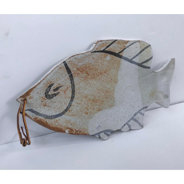 Vintage Pottery Fish Platter - Image 2 of 6