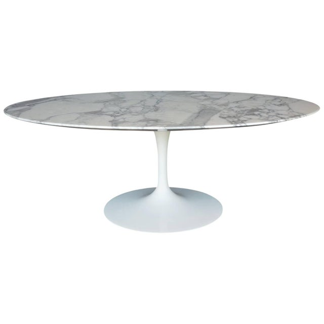 1950s Marble-Top Coffee Table For Sale - Image 5 of 5