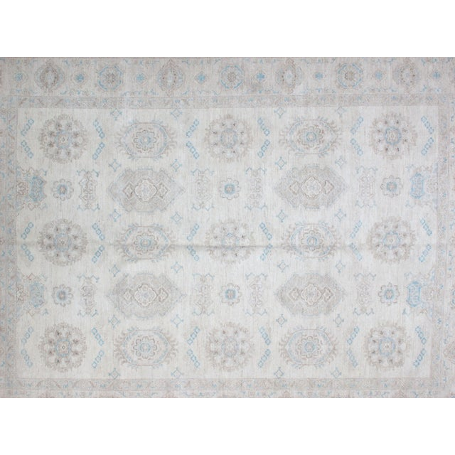 "Mid-Century Modern Leon Banilivi Khotan Carpet - 9'1"" X 12' For Sale - Image 3 of 5"