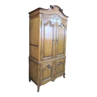 Country French Media Cabinet For Sale