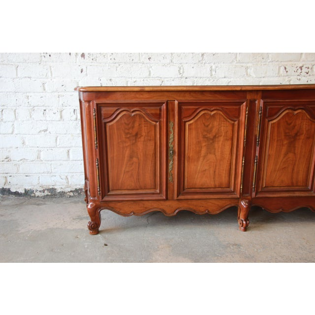 Baker Furniture Milling Road French Country Sideboard Buffet - Image 9 of 11 - Baker Furniture Milling Road French Country Sideboard Buffet