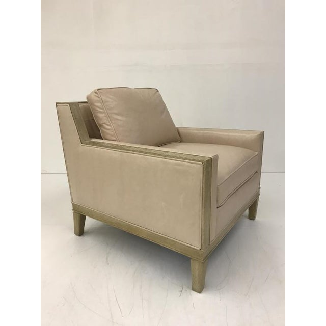 The Stradling Chair is a first quality market sample that features a Springdown Medium Seat Cushion and a Fiberdown Back...